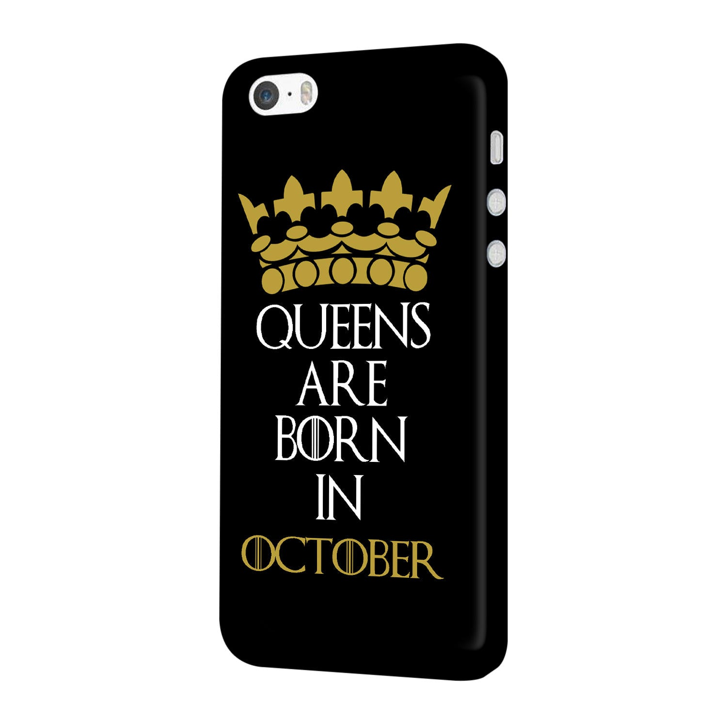 Queens October iPhone 5 Mobile Cover Case - MADANYU