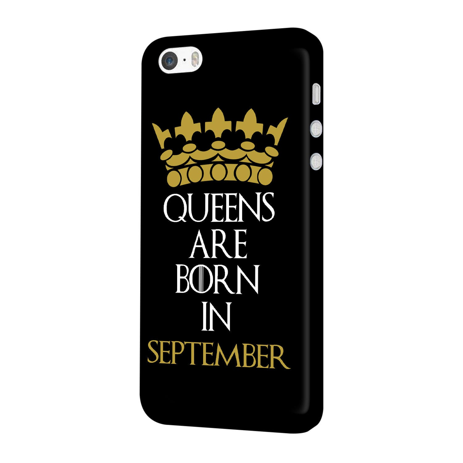 Queens September iPhone 5 Mobile Cover Case - MADANYU