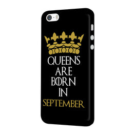 Queens September iPhone 5 Mobile Cover Case