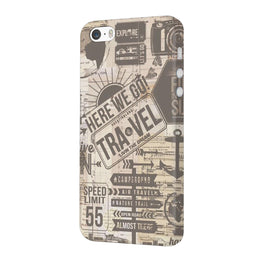 Wanderlust Graffiti iPhone 5 Mobile Cover Case