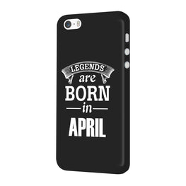 Legends April iPhone 5 Mobile Cover Case