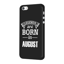 Legends August iPhone 5 Mobile Cover Case
