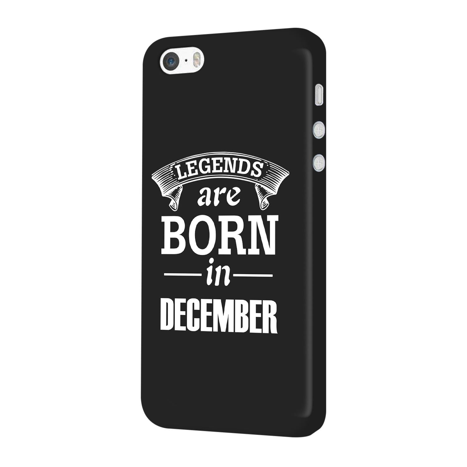 Legends December iPhone 5 Mobile Cover Case
