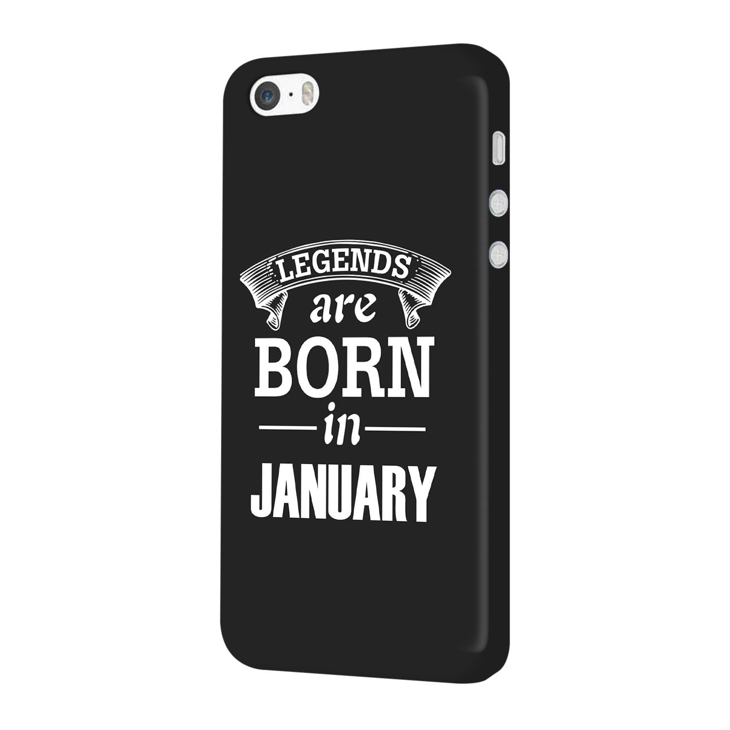 Legends January iPhone 5 Mobile Cover Case - MADANYU