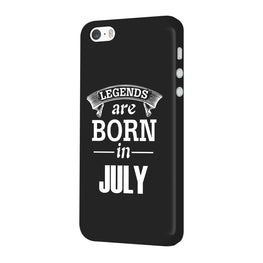 Legends July iPhone 5 Mobile Cover Case
