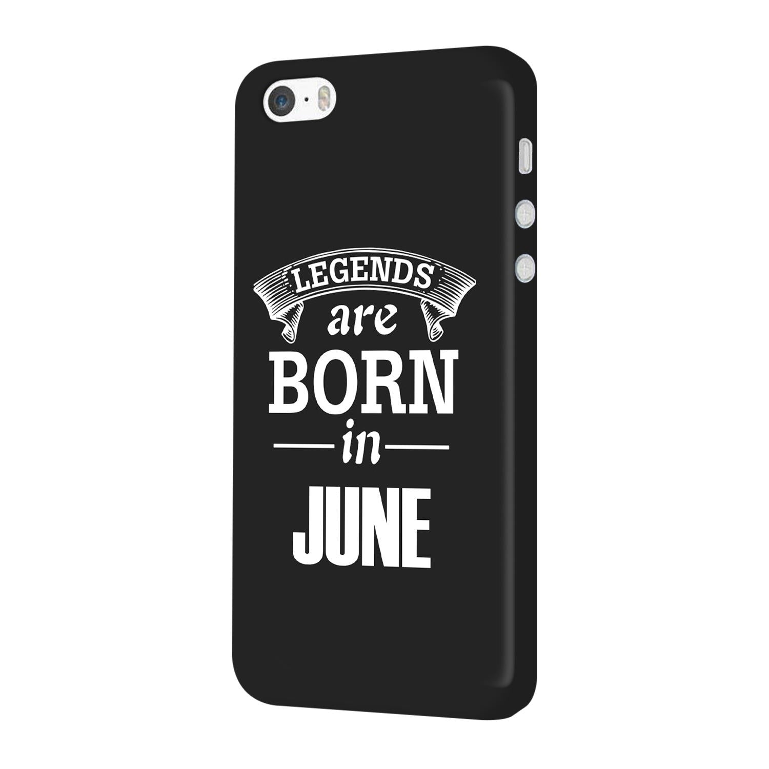 Legends June iPhone 5 Mobile Cover Case - MADANYU