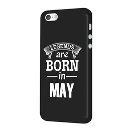 Legends May iPhone 5 Mobile Cover Case
