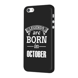 Legends October iPhone 5 Mobile Cover Case