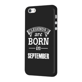 Legends September iPhone 5 Mobile Cover Case