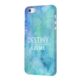 Destiny Vs Karma iPhone 5 Mobile Cover Case