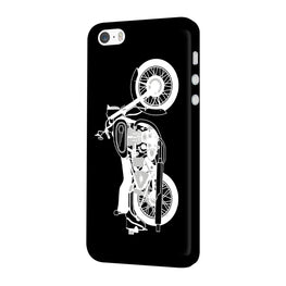 Bulllet Love iPhone 5 Mobile Cover Case