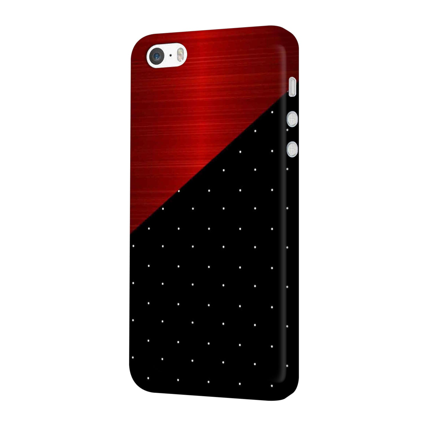 Polka Dots On Wood iPhone 5 Mobile Cover Case - MADANYU