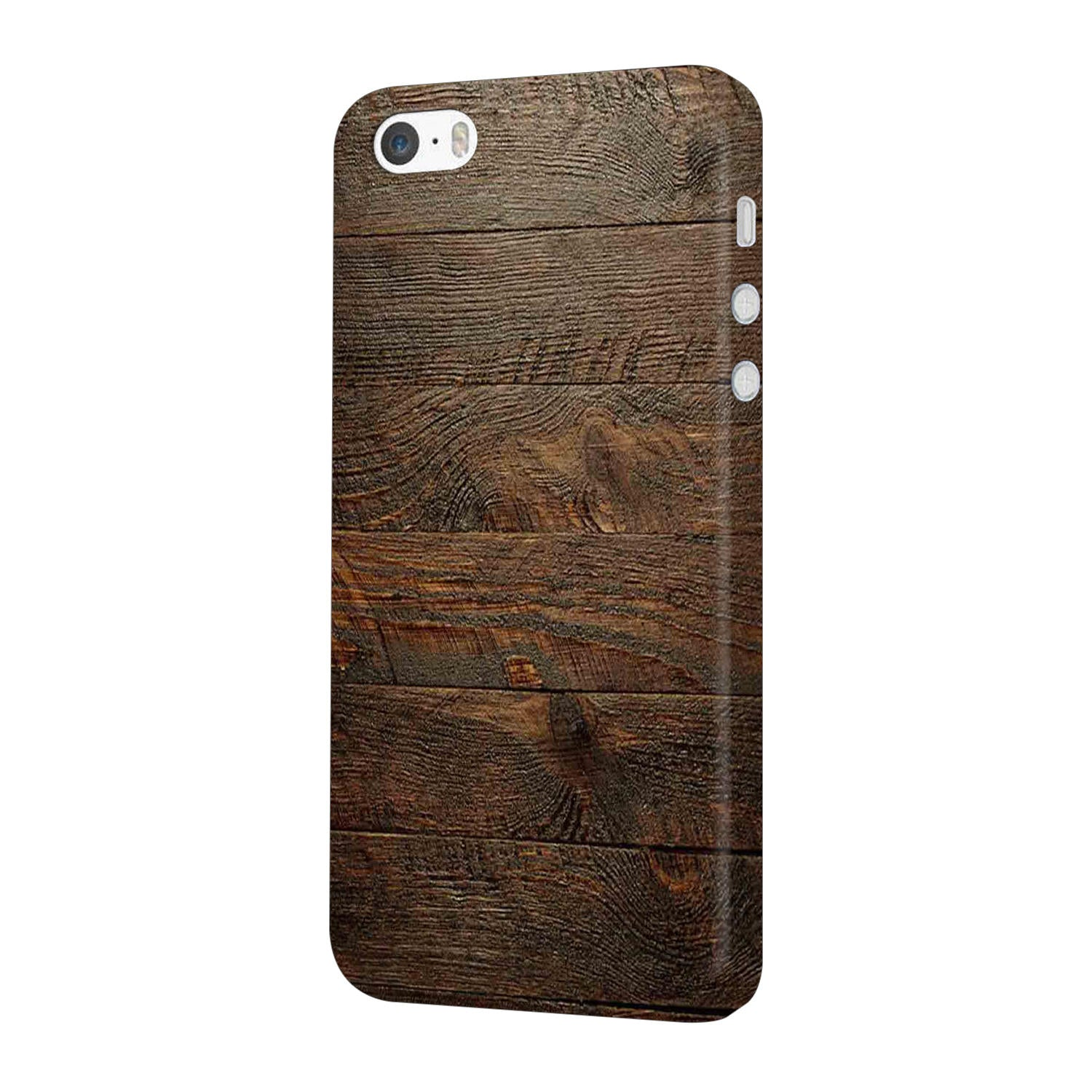 Wooden Wall iPhone 5 Mobile Cover Case - MADANYU