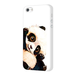 Cute Baby Panda iPhone 5 Mobile Cover Case