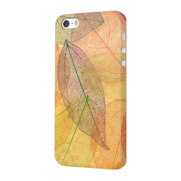 Colourful Leaves Art So Girly iPhone 5 Mobile Cover Case