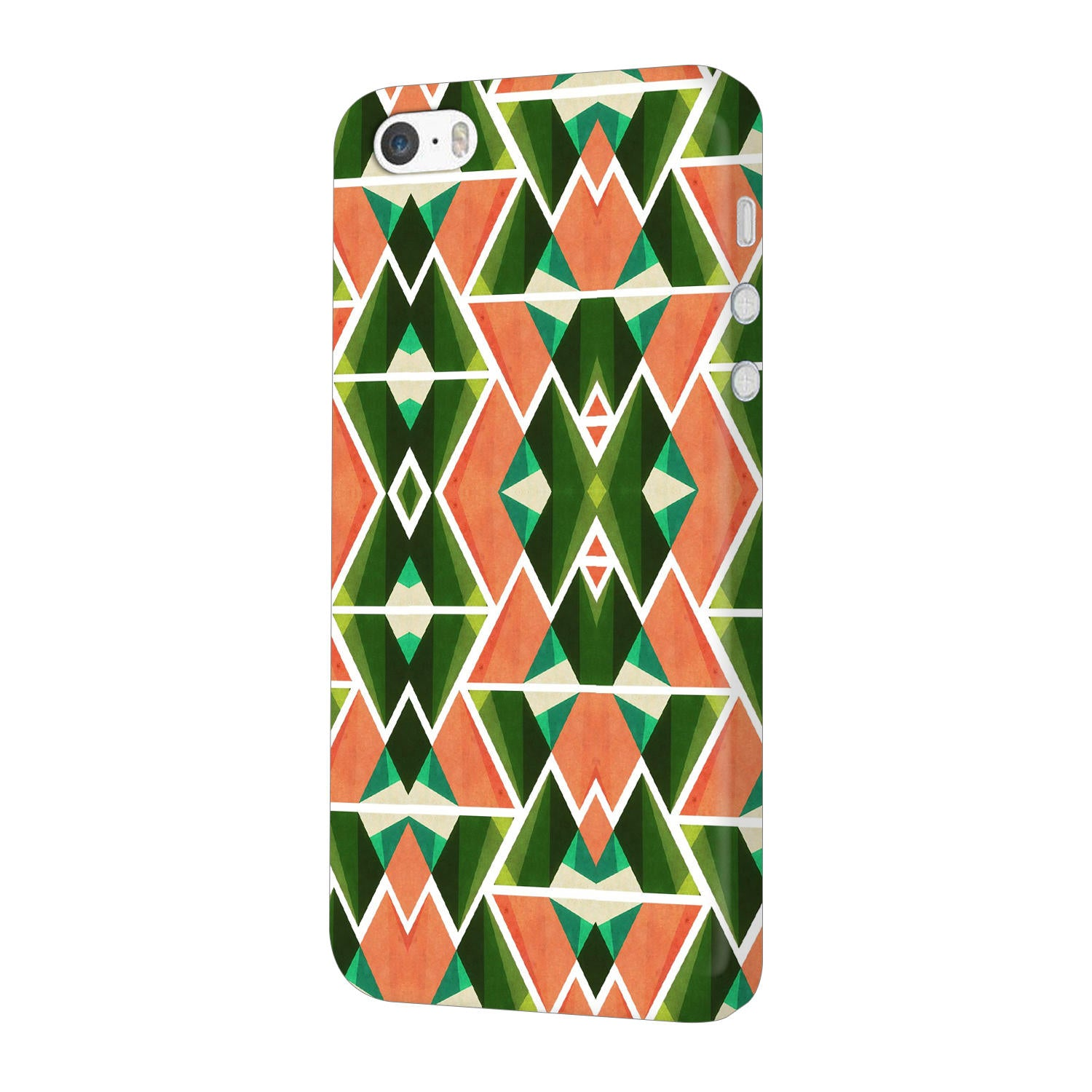 Diamond Geometric Pattern iPhone 5 Mobile Cover Case