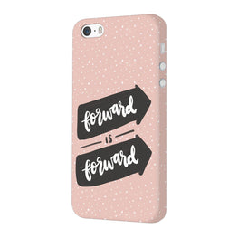 Forward Is Forward Motivational Quote iPhone 5 Mobile Cover Case
