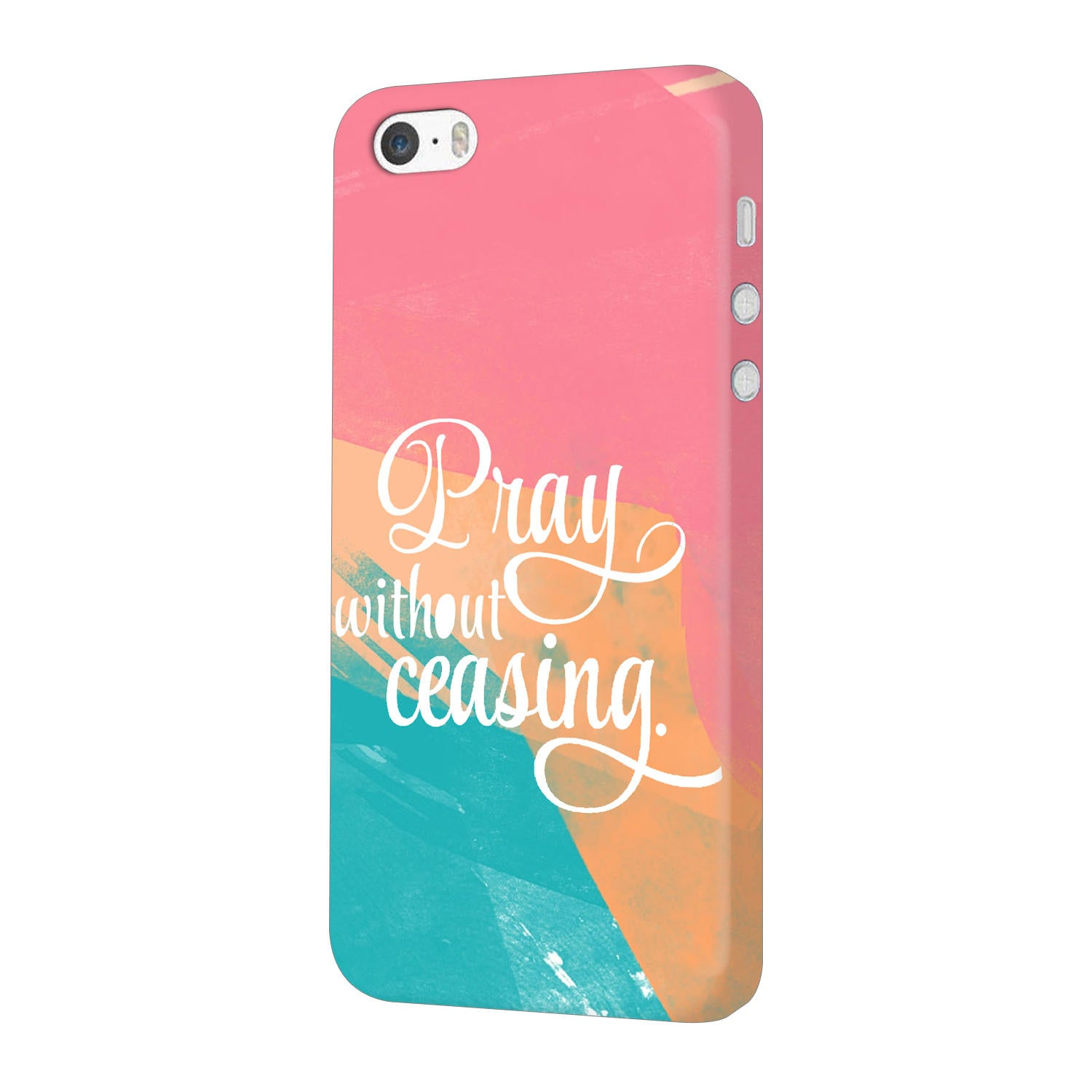 Pray Without Ceasing Motivational Quote iPhone 5 Mobile Cover Case