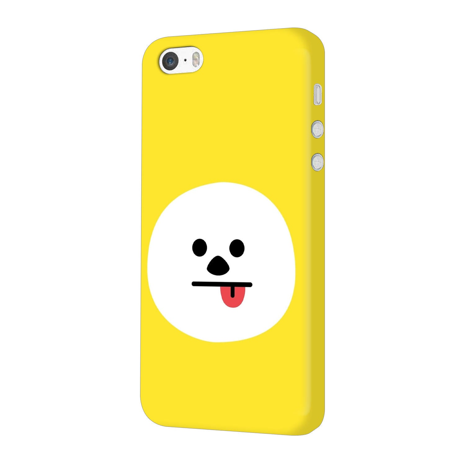 Tongue Out Smile Funny Face iPhone 5 Mobile Cover Case