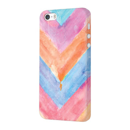 WaterColor Chevron Pattern iPhone 5 Mobile Cover Case