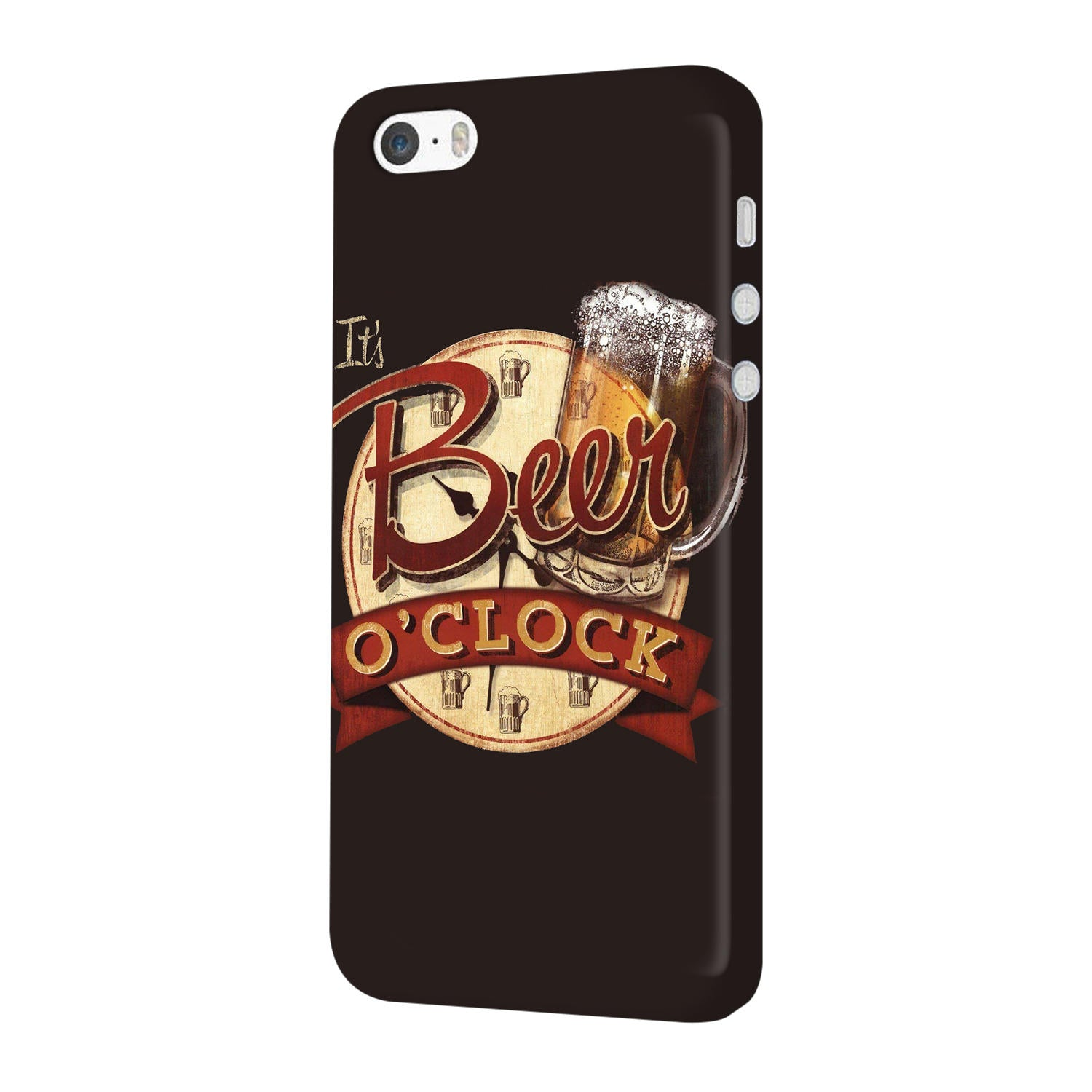 Beer Oclock Beer Lovers iPhone 5 Mobile Cover Case