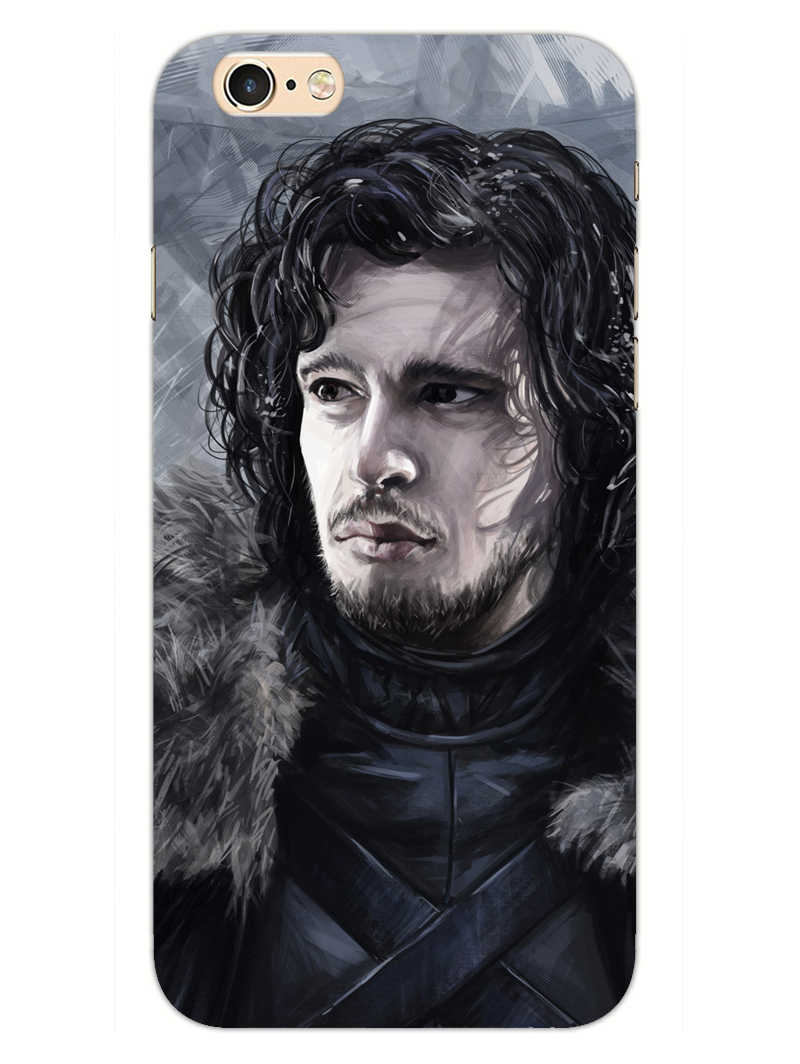 Jon Snow iPhone 6 Plus Mobile Cover Case - MADANYU