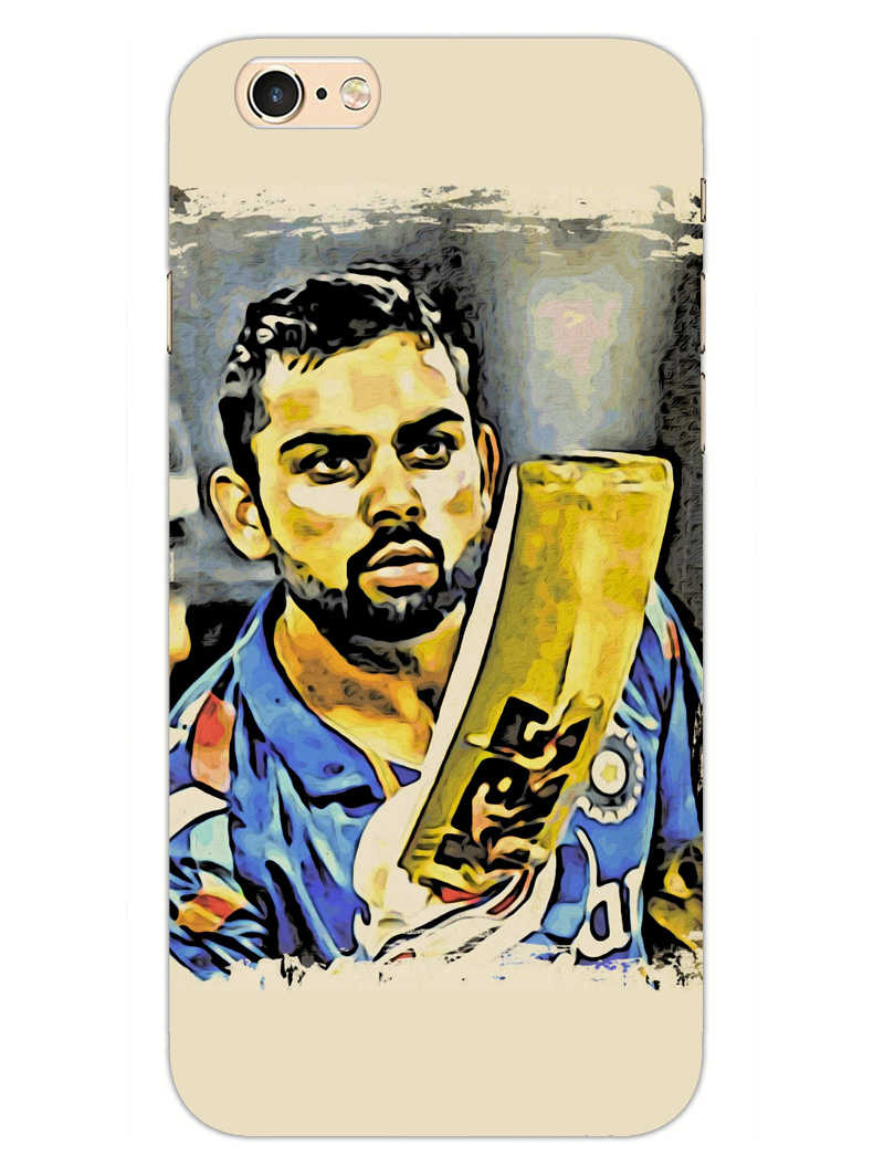 Kohli Bat Kiss iPhone 6 Plus Mobile Cover Case