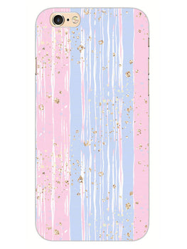 Pink And Blue Shade Lines iPhone 6 Plus Mobile Cover Case
