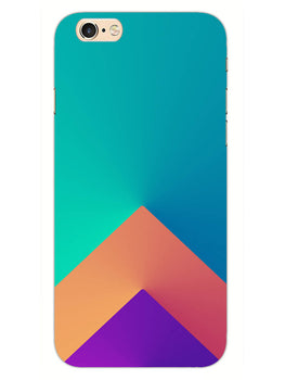 Triangular Shapes iPhone 6 Plus Mobile Cover Case