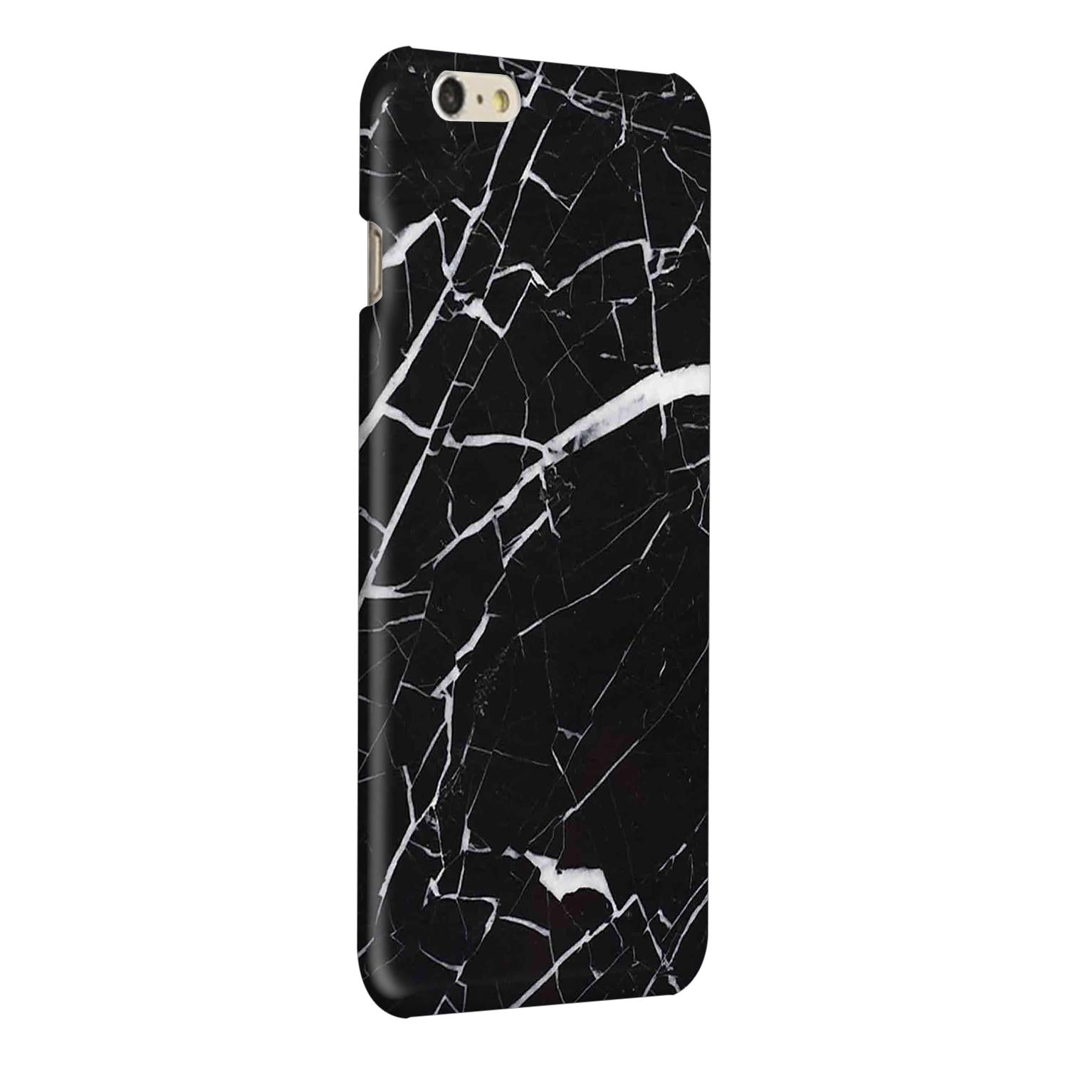 Dark Marble iPhone 6 Plus Mobile Cover Case - MADANYU
