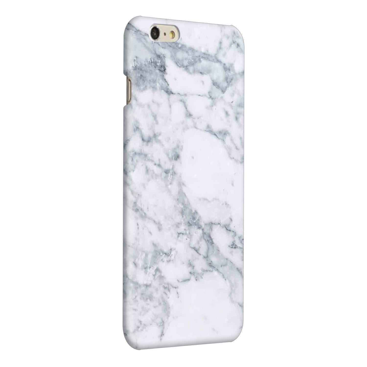 Chic White Marble iPhone 6 Plus Mobile Cover Case