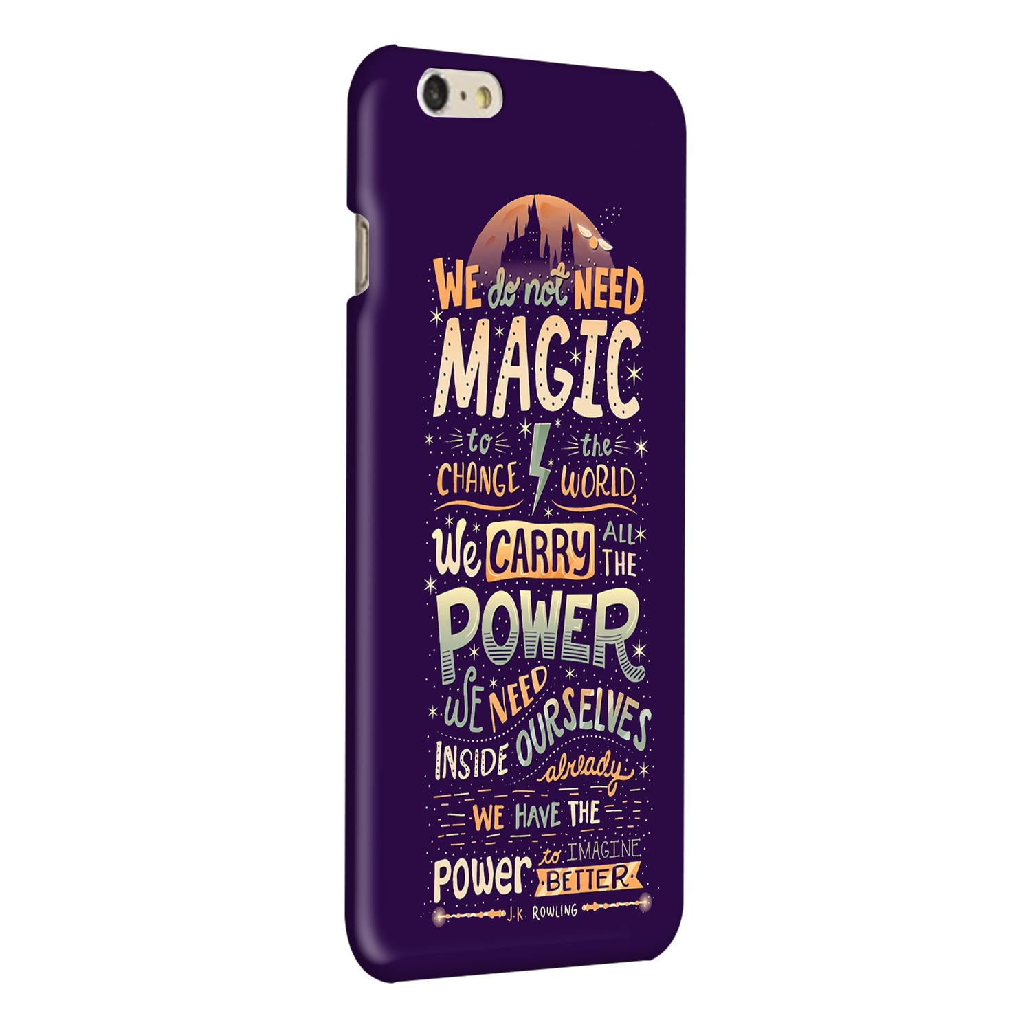 Harry Potter Quote iPhone 6 Plus Mobile Cover Case - MADANYU
