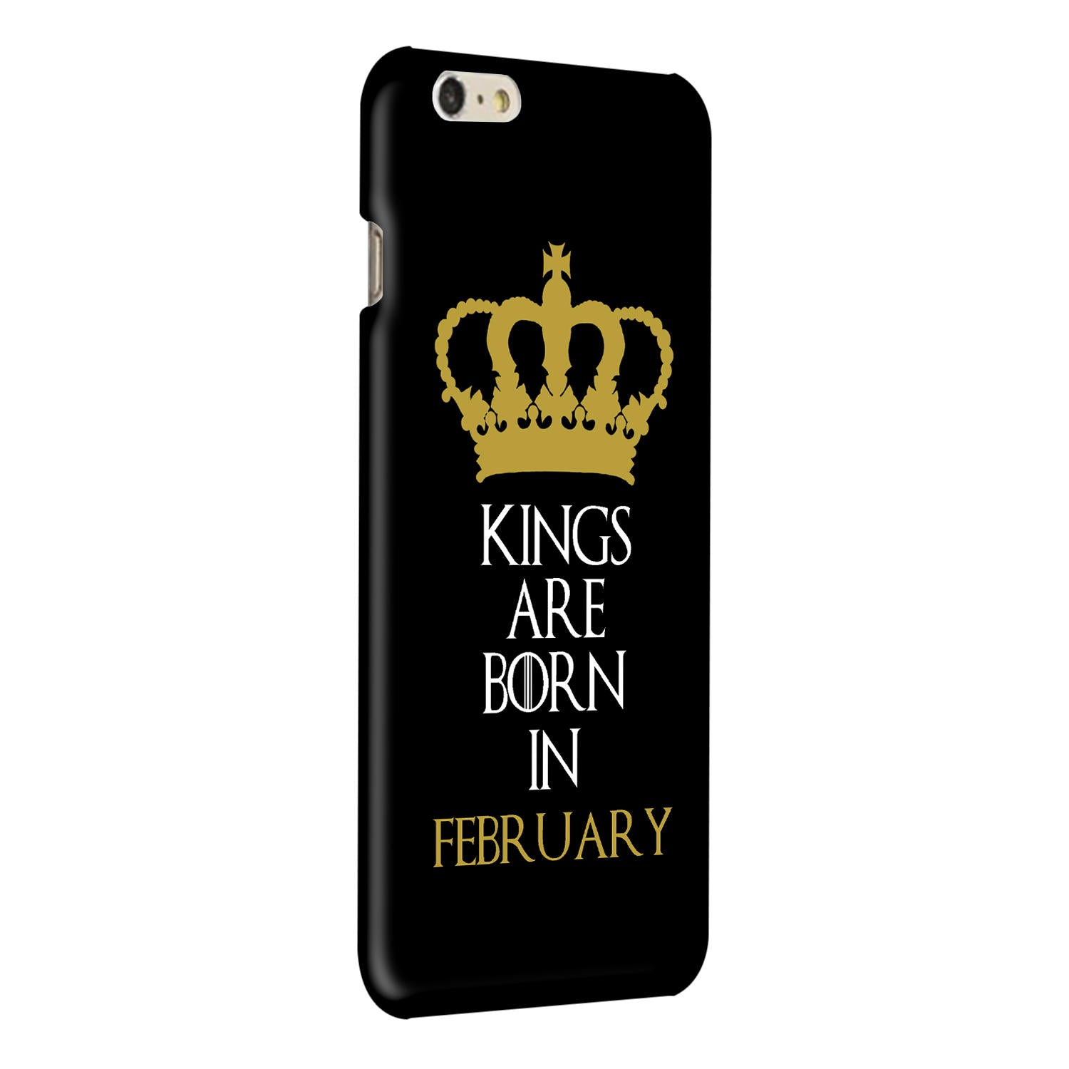 Kings February iPhone 6 Plus Mobile Cover Case