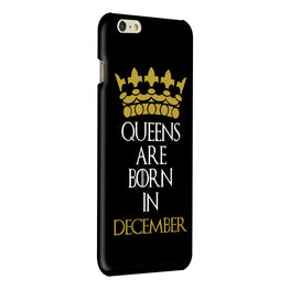 Queens December iPhone 6 Plus Mobile Cover Case