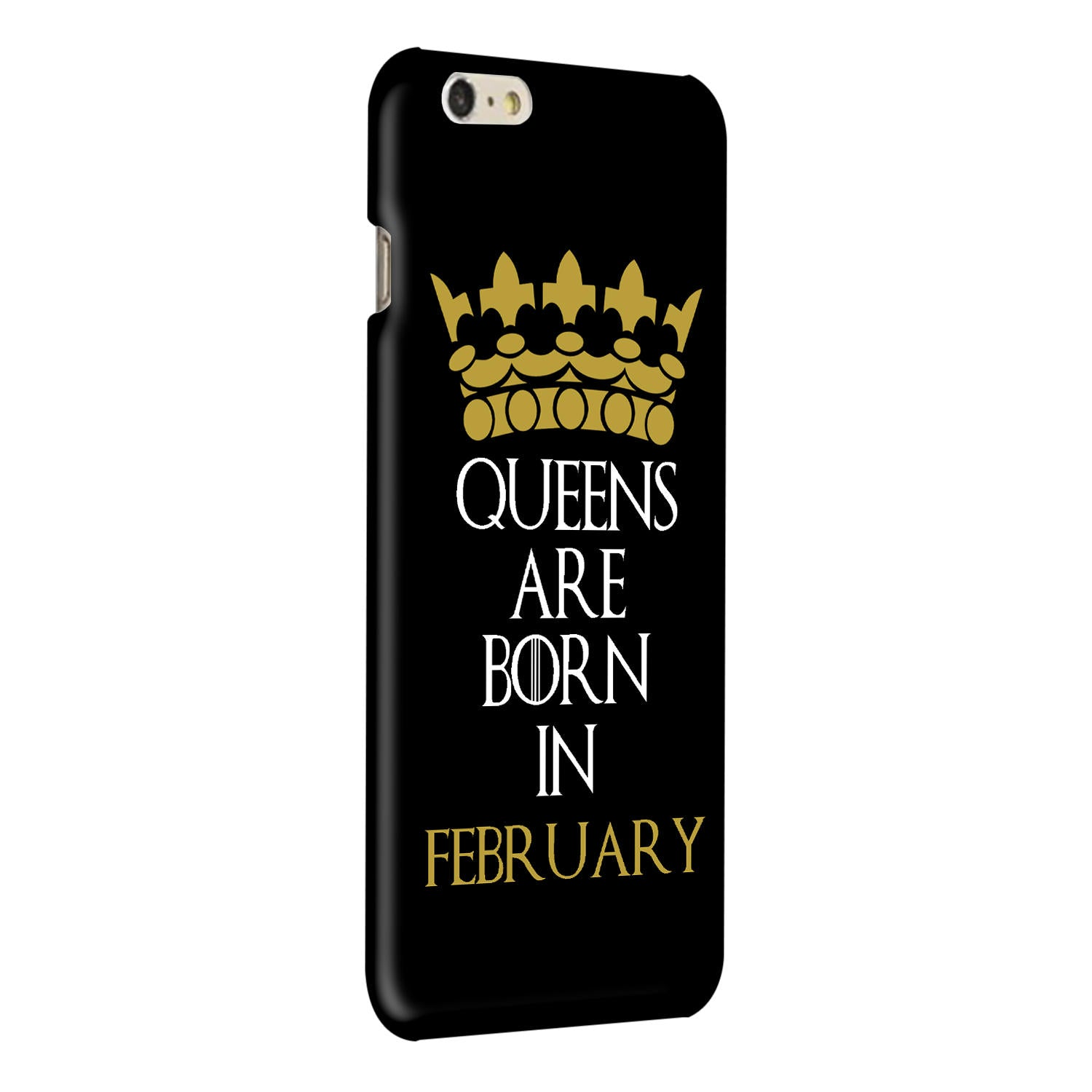 Queens February iPhone 6 Plus Mobile Cover Case