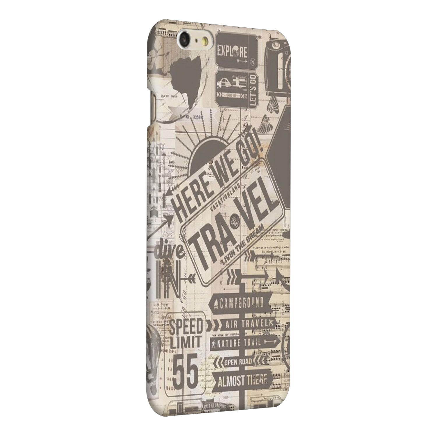 Wanderlust Graffiti iPhone 6 Plus Mobile Cover Case - MADANYU