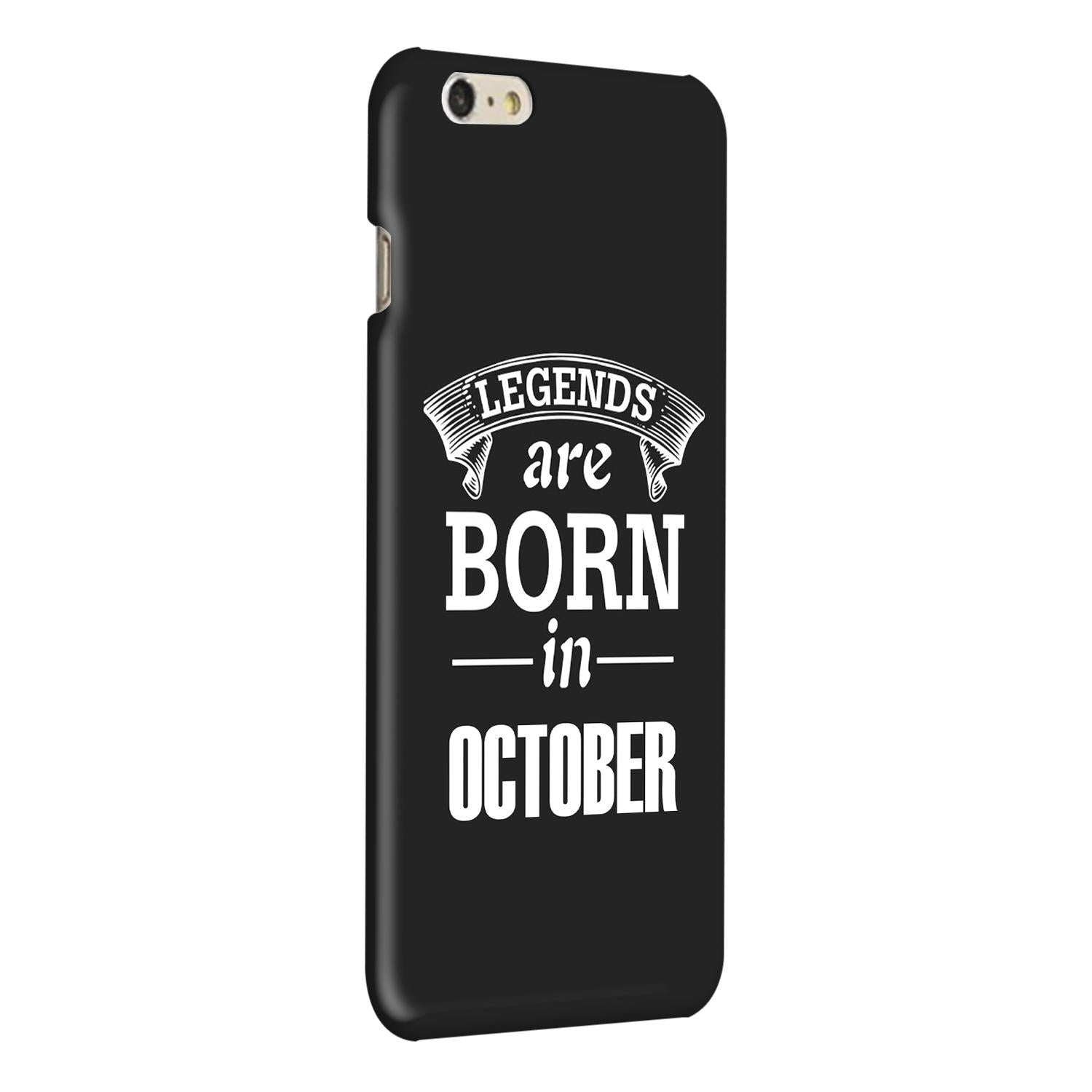 Legends October iPhone 6 Plus Mobile Cover Case - MADANYU