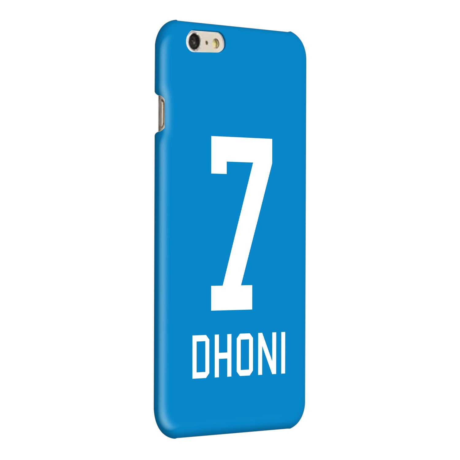 Dhoni Jersey iPhone 6 Plus Mobile Cover Case - MADANYU