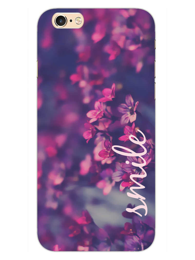 Floral Smile iPhone 6S Plus Mobile Cover Case - MADANYU