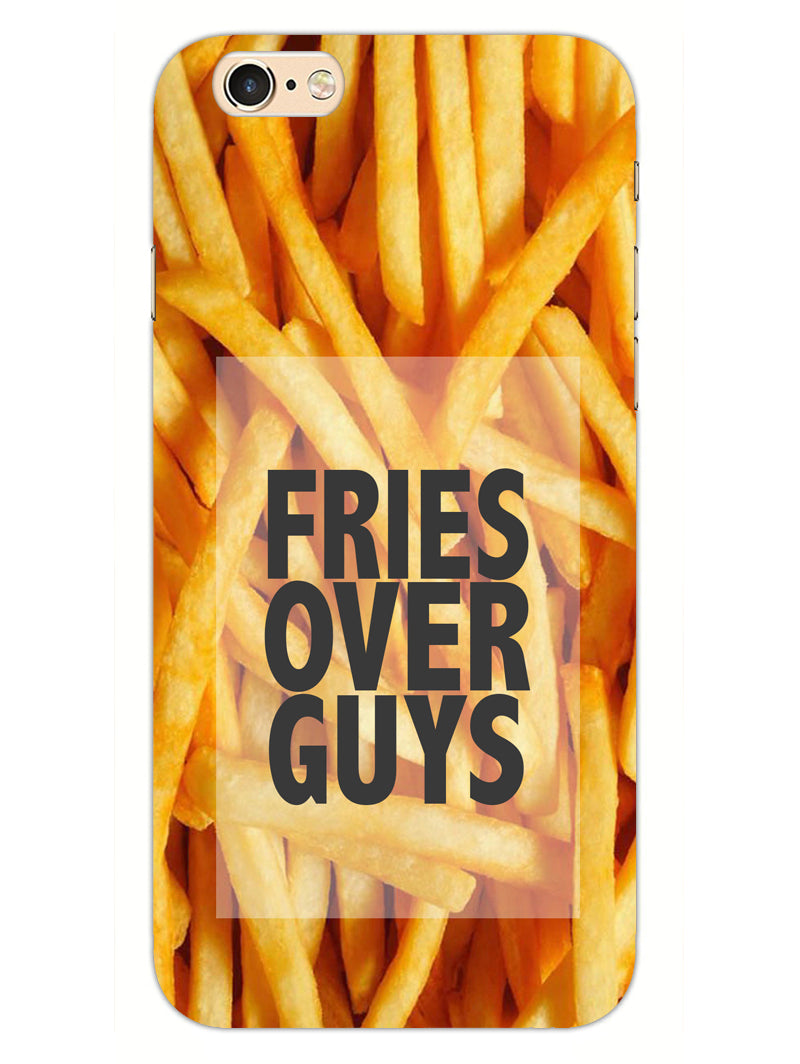 Fries Over Guys iPhone 6S Plus Mobile Cover Case - MADANYU