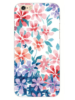 Floral Art iPhone 6S Plus Mobile Cover Case
