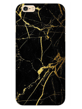 Classy Black Marble iPhone 6S Plus Mobile Cover Case