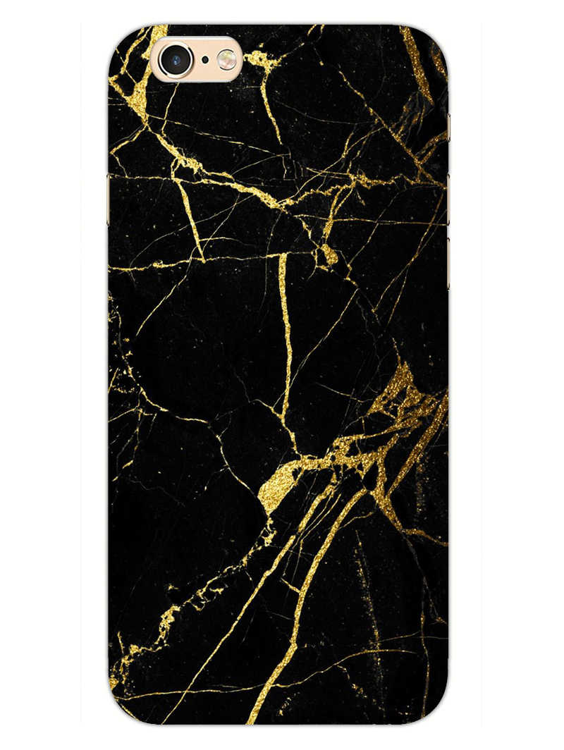 Classy Black Marble iPhone 6S Plus Mobile Cover Case - MADANYU