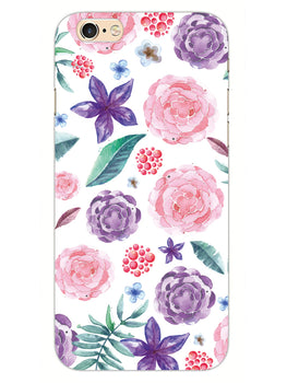 Floral Pattern iPhone 6S Plus Mobile Cover Case