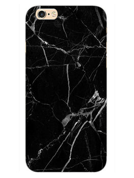 Black Marble Grey Veins iPhone 6S Plus Mobile Cover Case