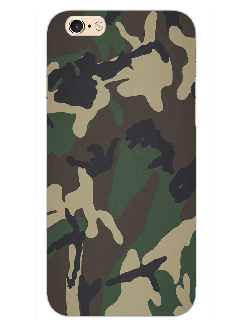 Camouflage iPhone 6S Plus Mobile Cover Case