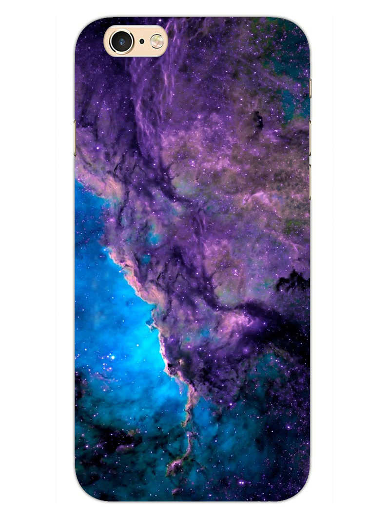 Blue Galaxy iPhone 6S Plus Mobile Cover Case - MADANYU