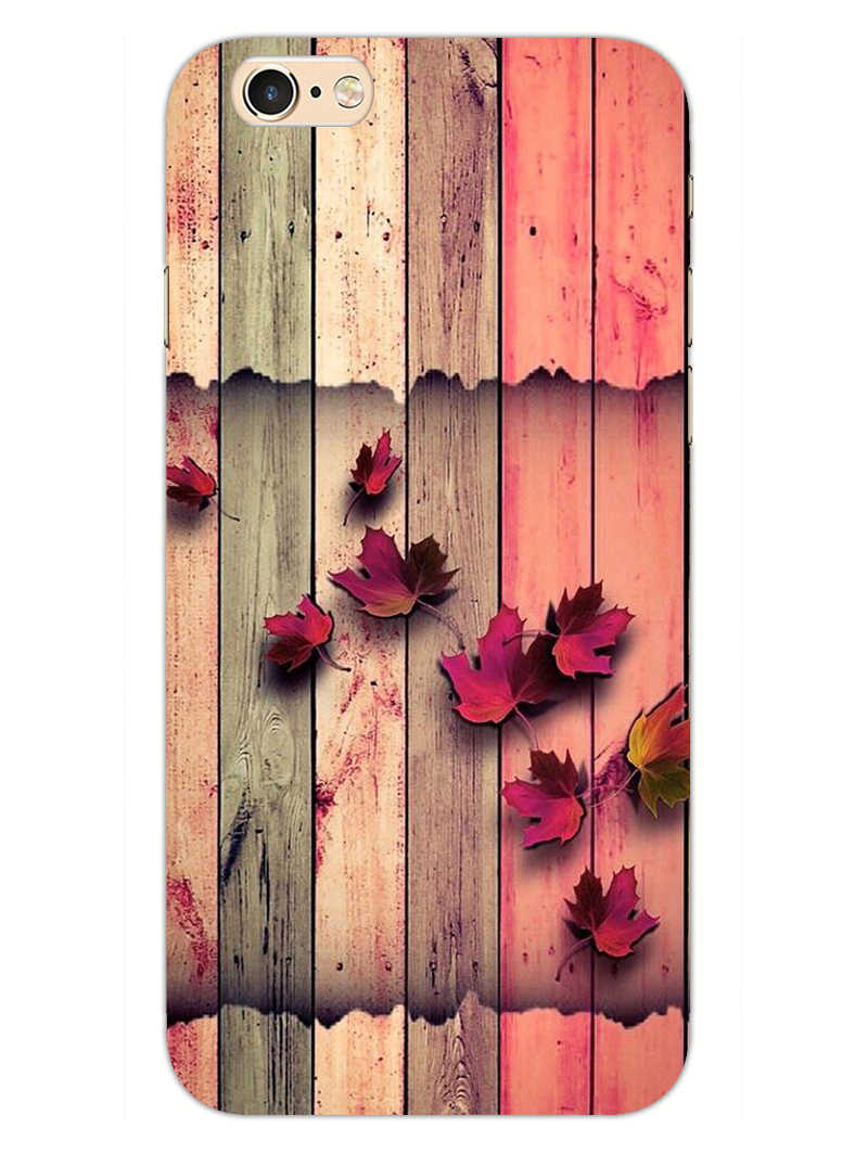 Color Wood iPhone 6S Plus Mobile Cover Case - MADANYU