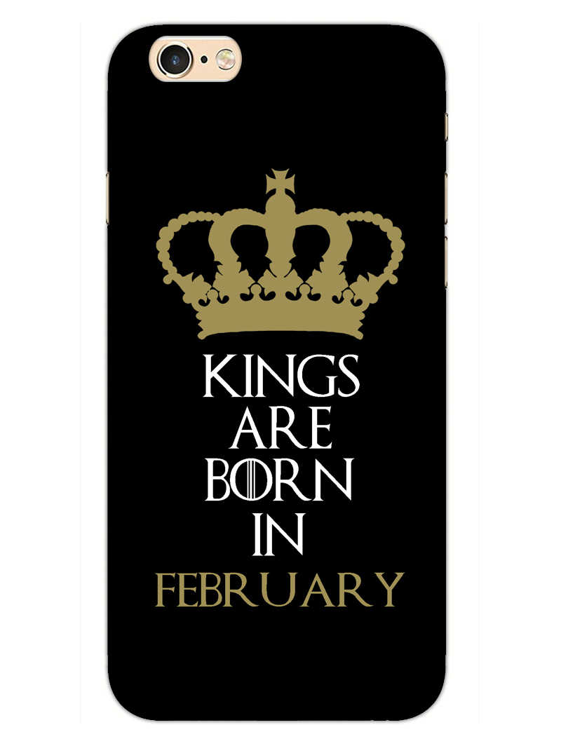 Kings February iPhone 6S Plus Mobile Cover Case
