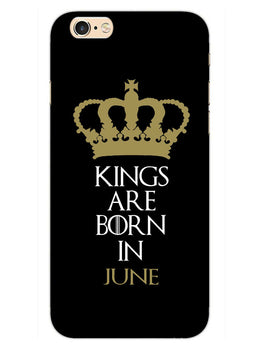 Kings June iPhone 6S Plus Mobile Cover Case